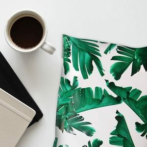 "Other - 10"" X 13"" Tropical Leaves Poly Mailer)"
